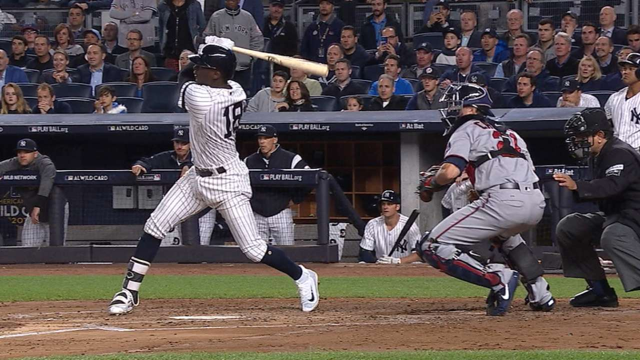 Didi's homer ties the game