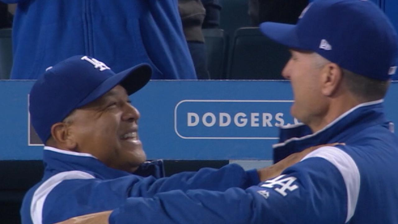 Dodgers set roster for NLDS vs. D-backs