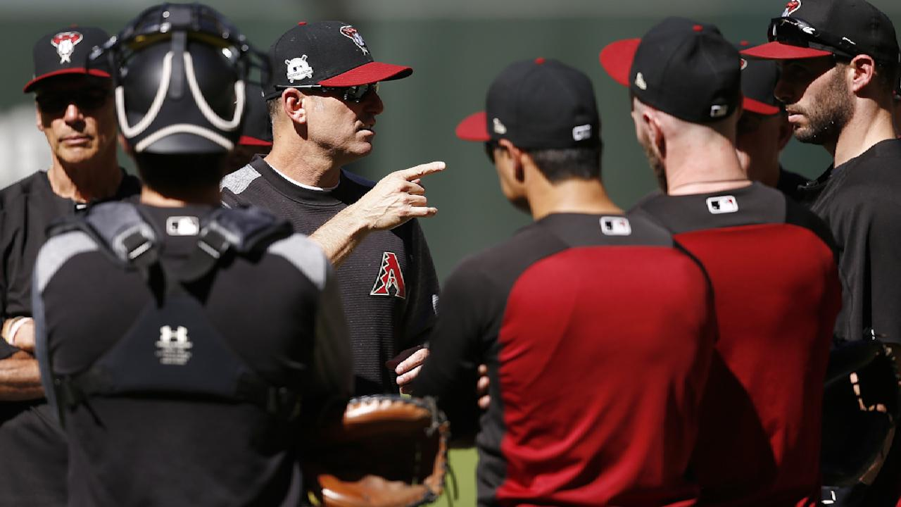 Lovullo on the D-backs' roster