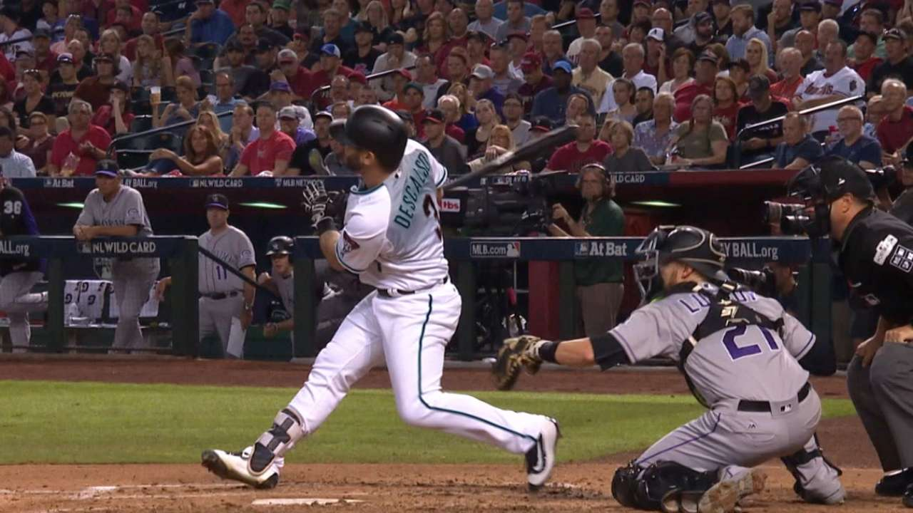 Descalso's two-run homer
