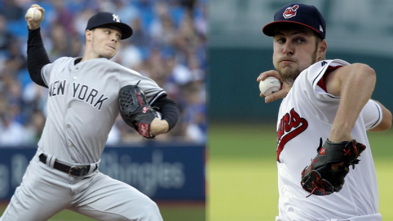Yankees, Indians lineups for ALDS Game 1
