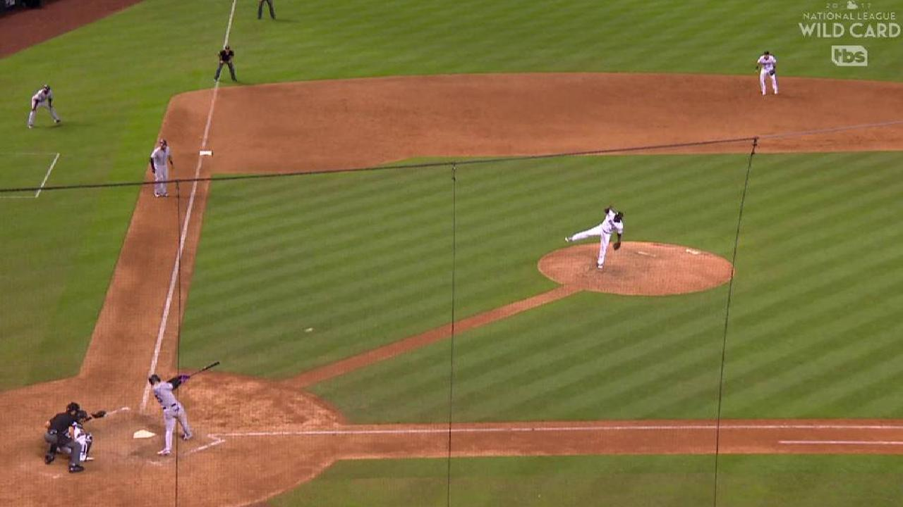 Gonzalez's RBI single