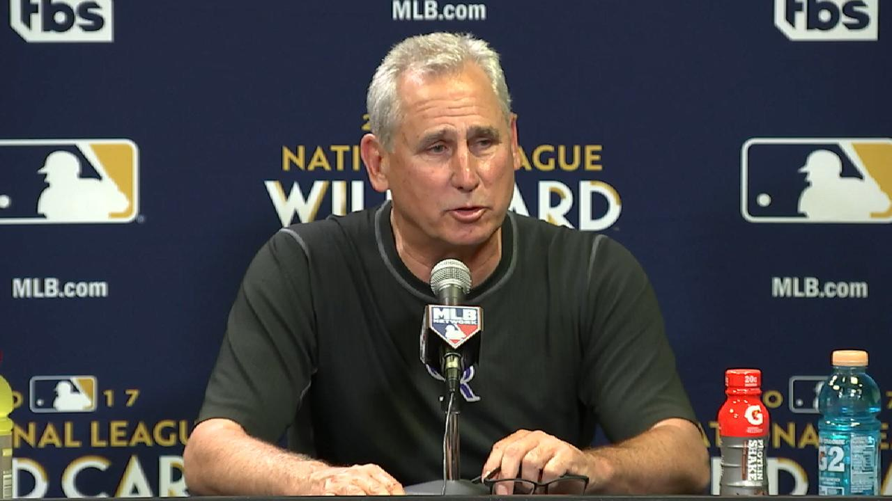 Black on loss in Wild Card Game