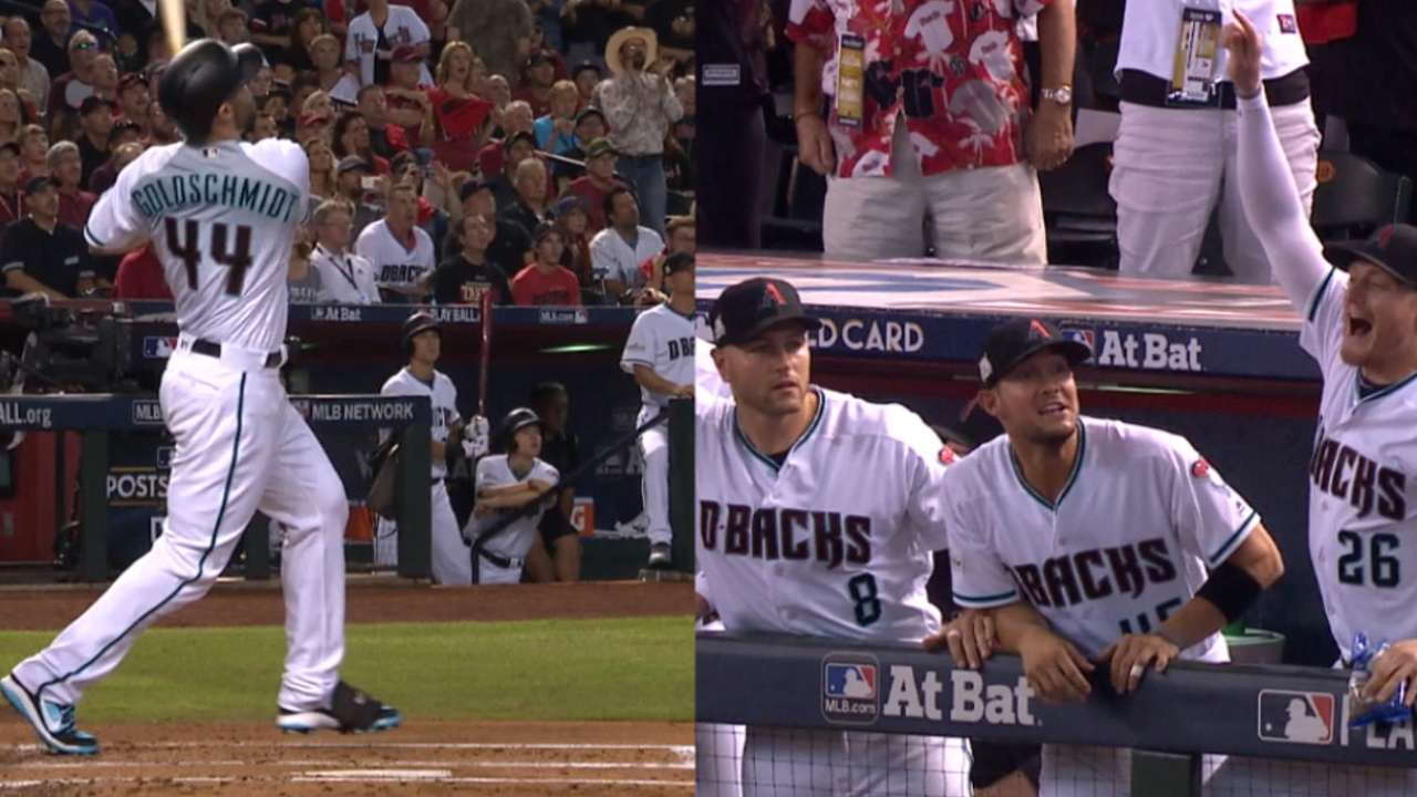 Must C: Goldy's three-run homer
