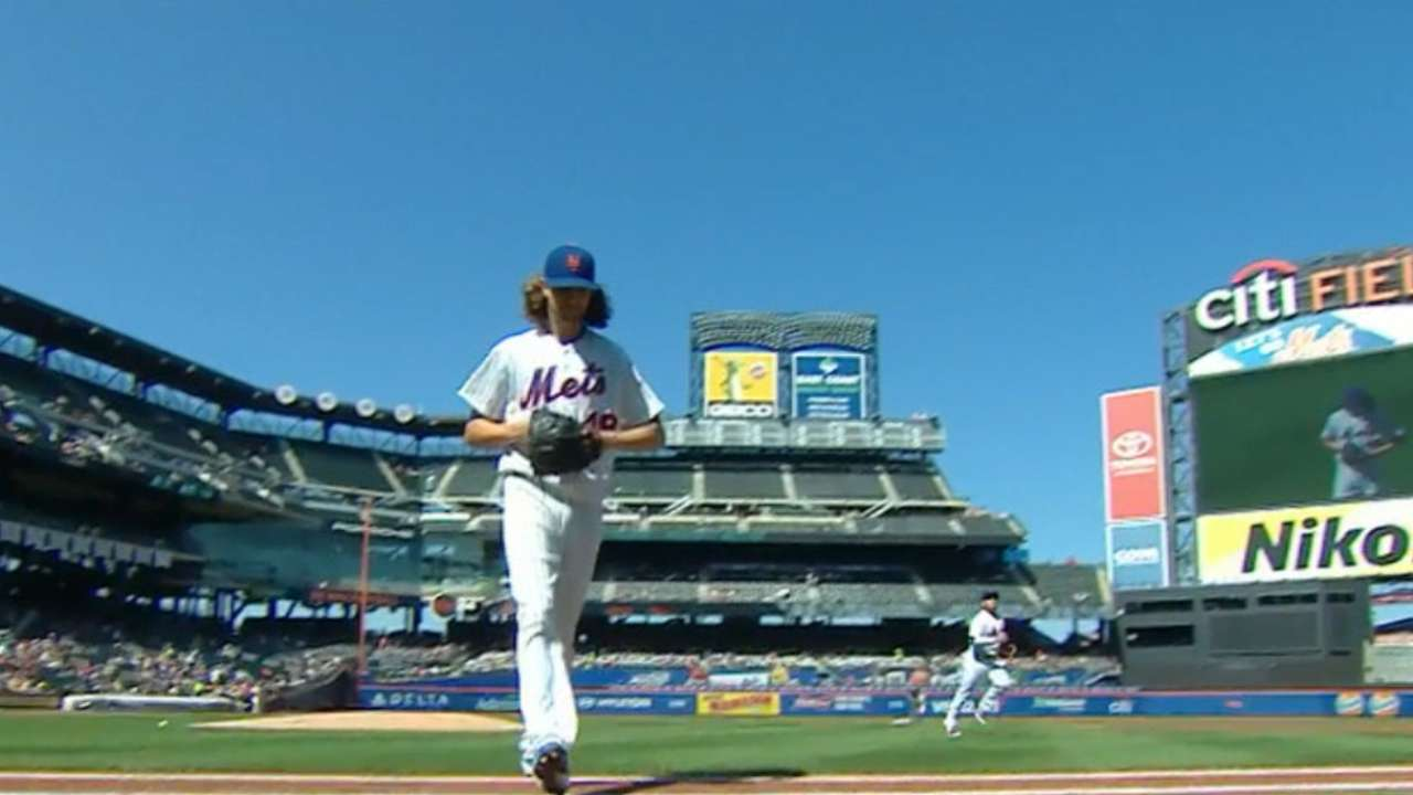 deGrom's excellent year