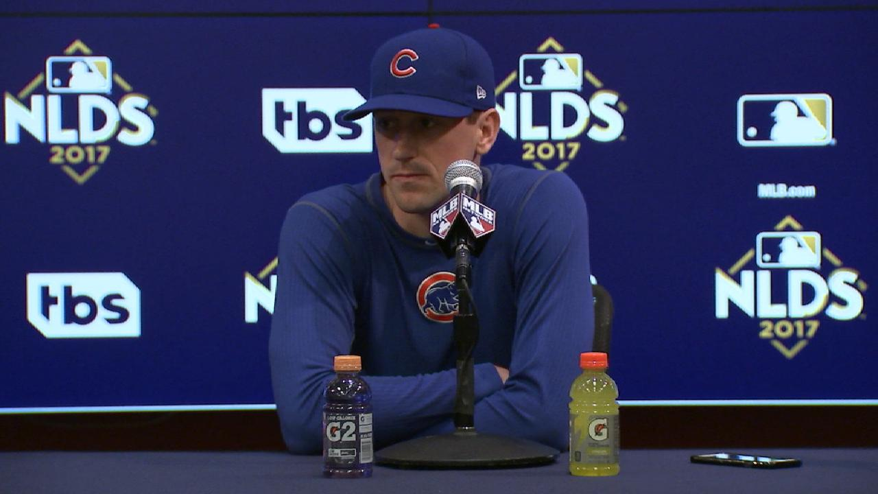 Hendricks to start Game 1 of NLDS for Cubs