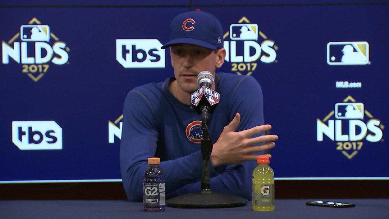 Hendricks on Cubs' postseason