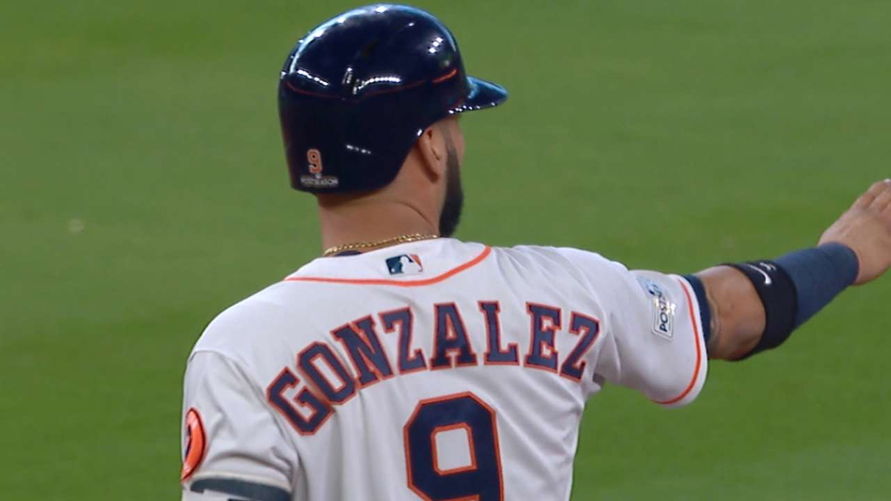 Gonzalez's two-run double