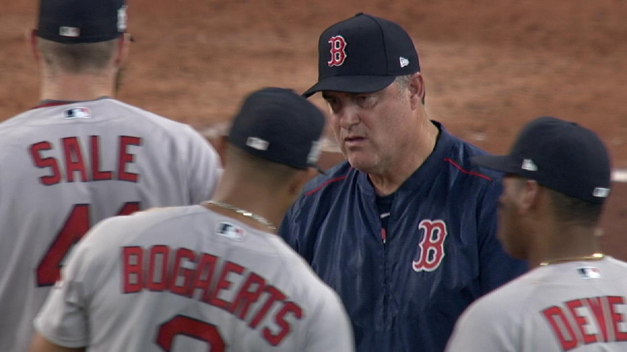 Farrell on Game 1 pitching