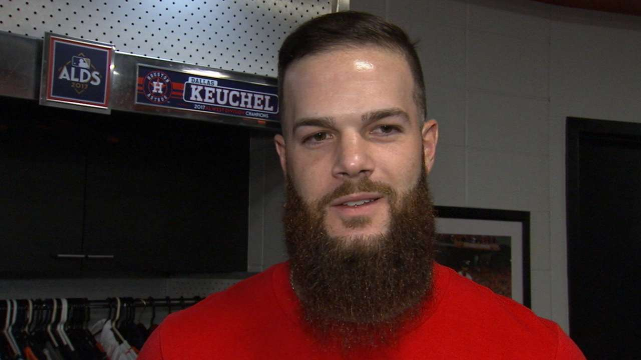Keuchel's sights set on putting Astros up, 2-0