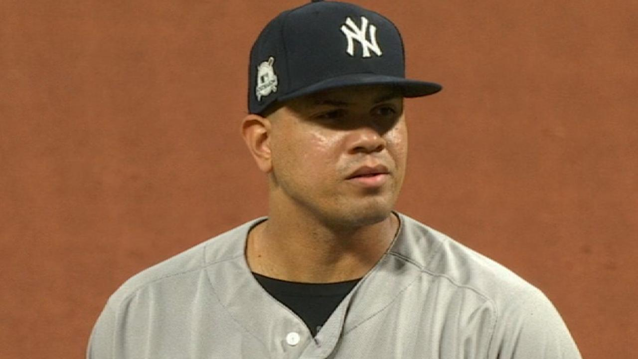 Betances K's side in the 8th