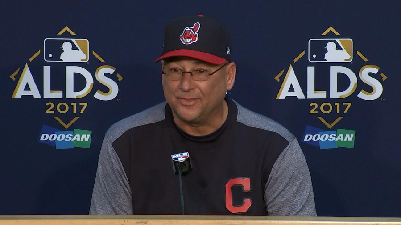 Oct. 5 Terry Francona postgame interview
