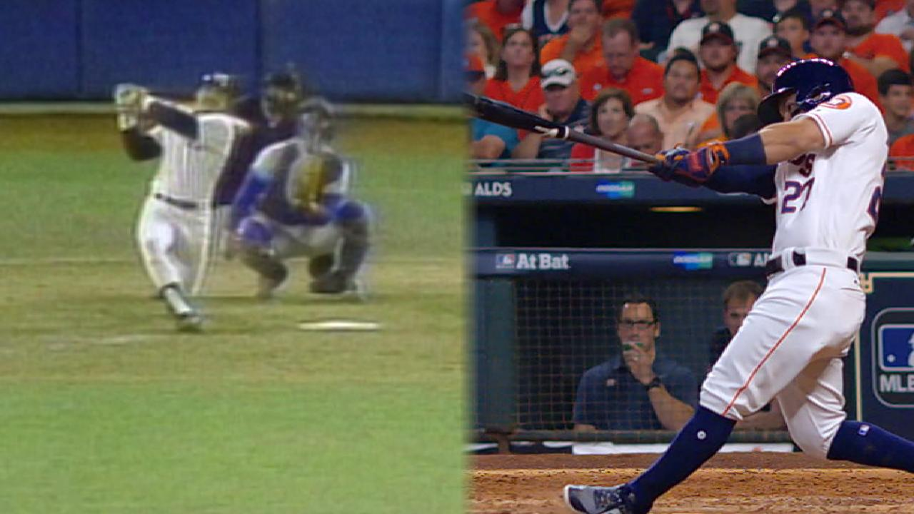 Jackson, Altuve side by side