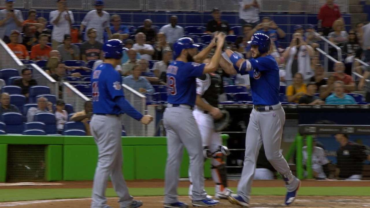 Gonzalez on the Cubs' lineup