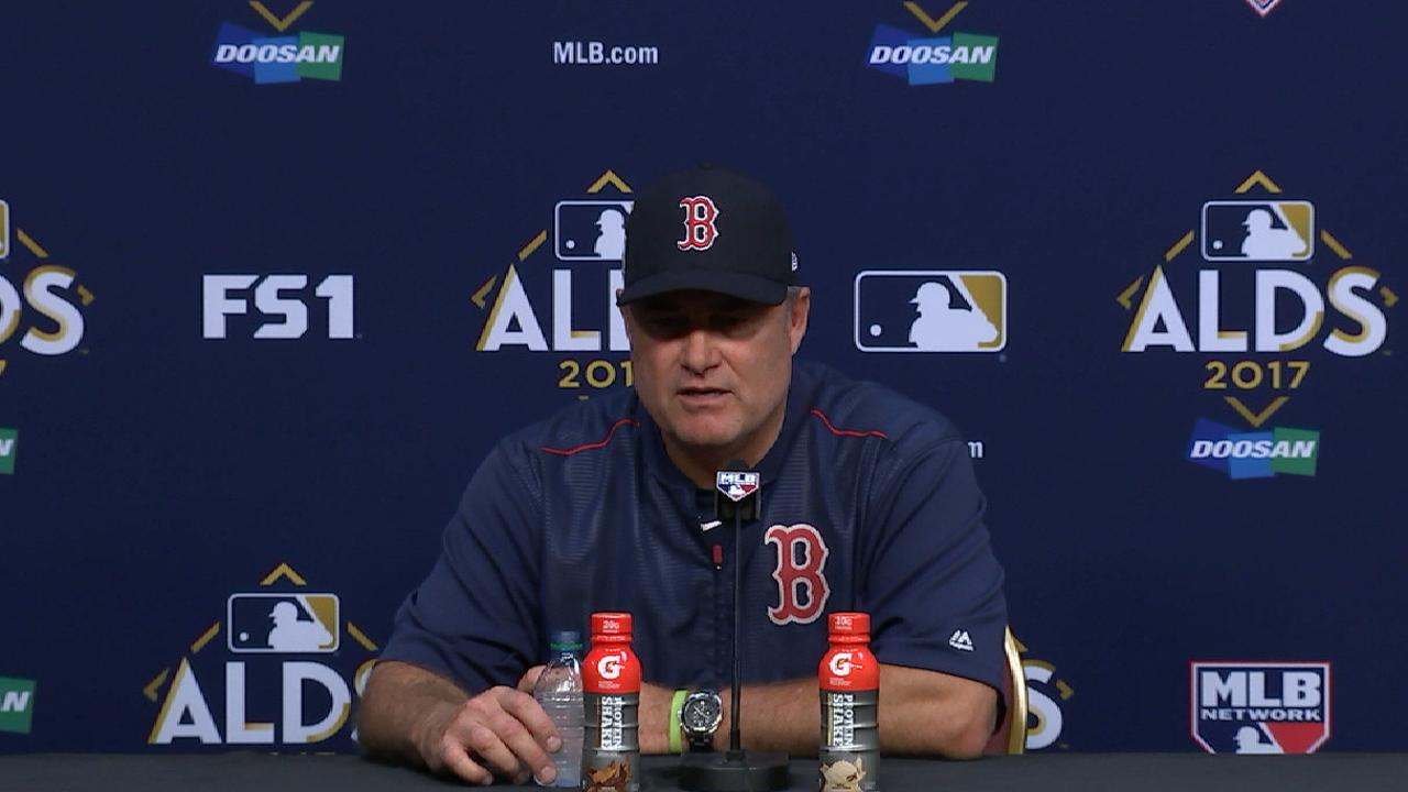 Farrell on Game 2 loss to Astros