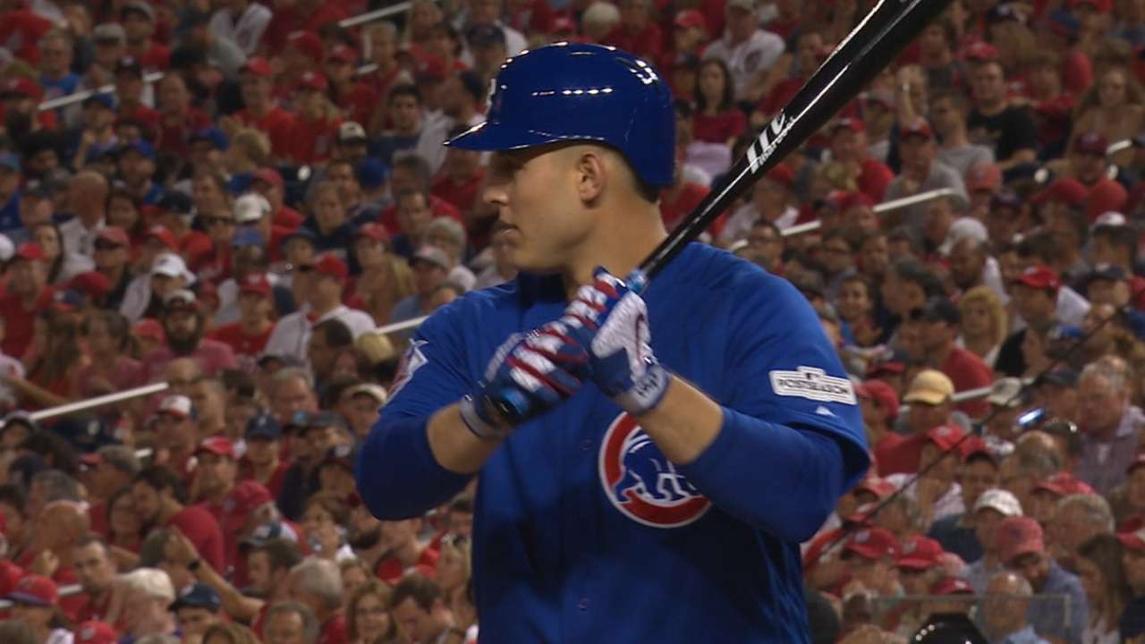Oct. 6 Anthony Rizzo postgame interview