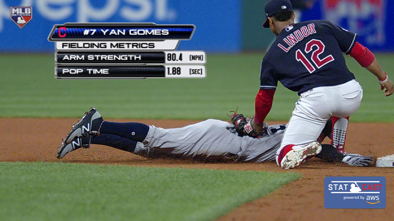 Gomes delivers clutch hit, throw in G2 victory