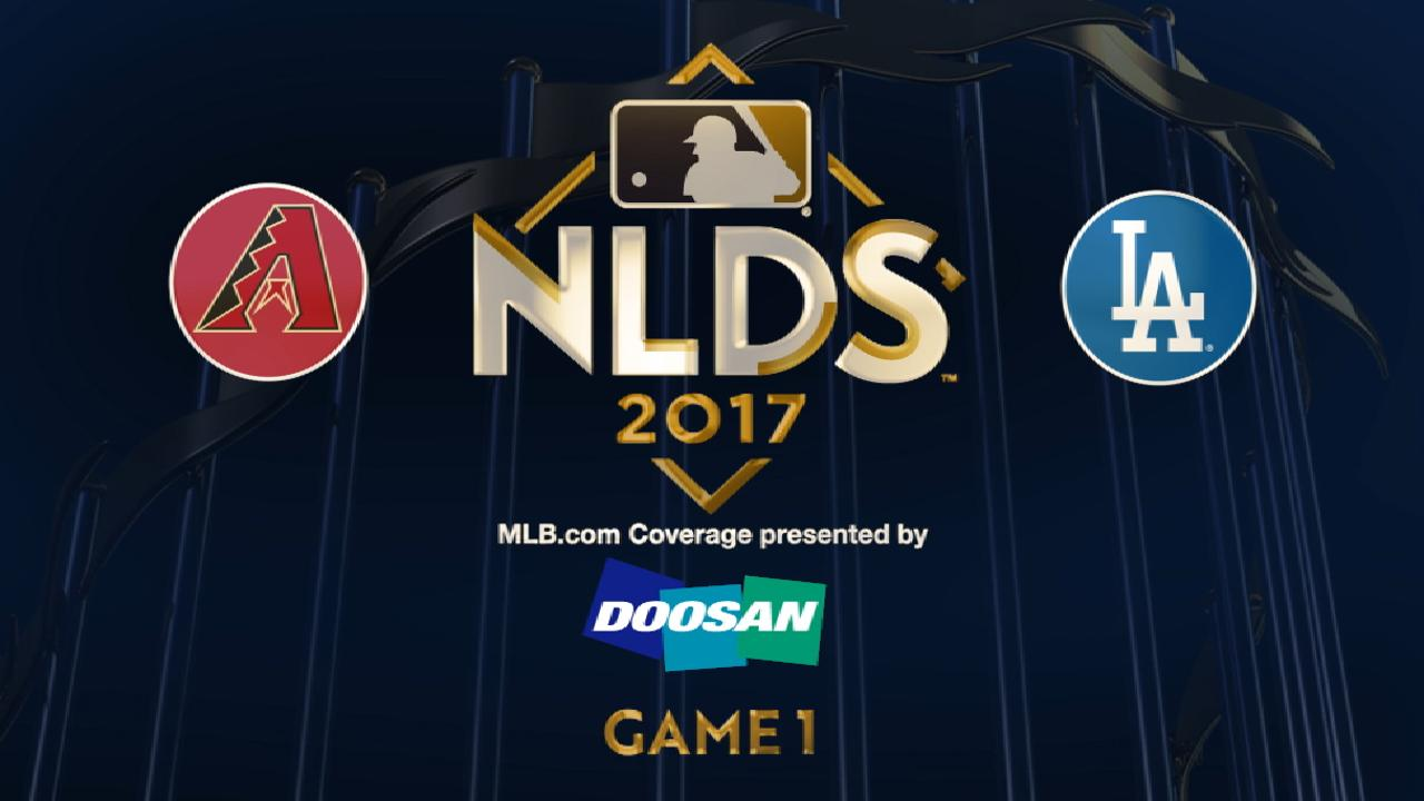 10/6/17: Justin Turner estalló ante D-backs para guiar a Dodgers en Juego 1