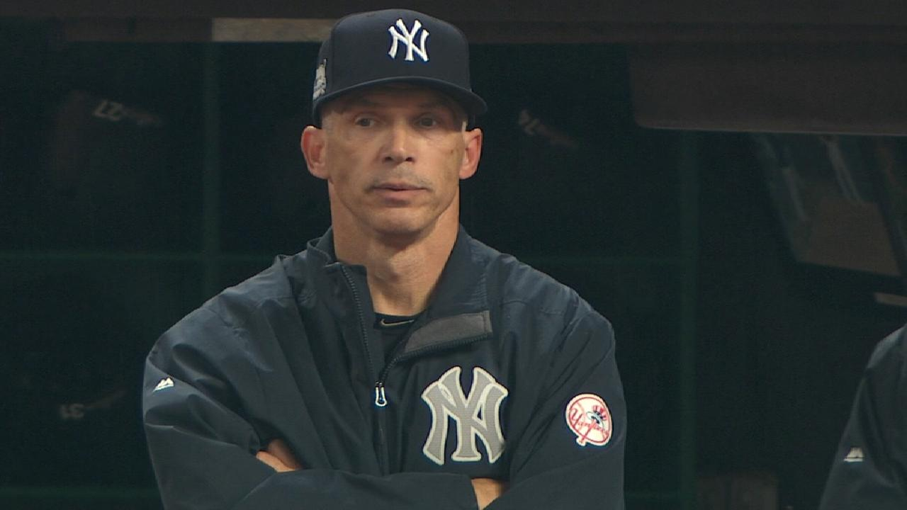 Girardi on not challenging