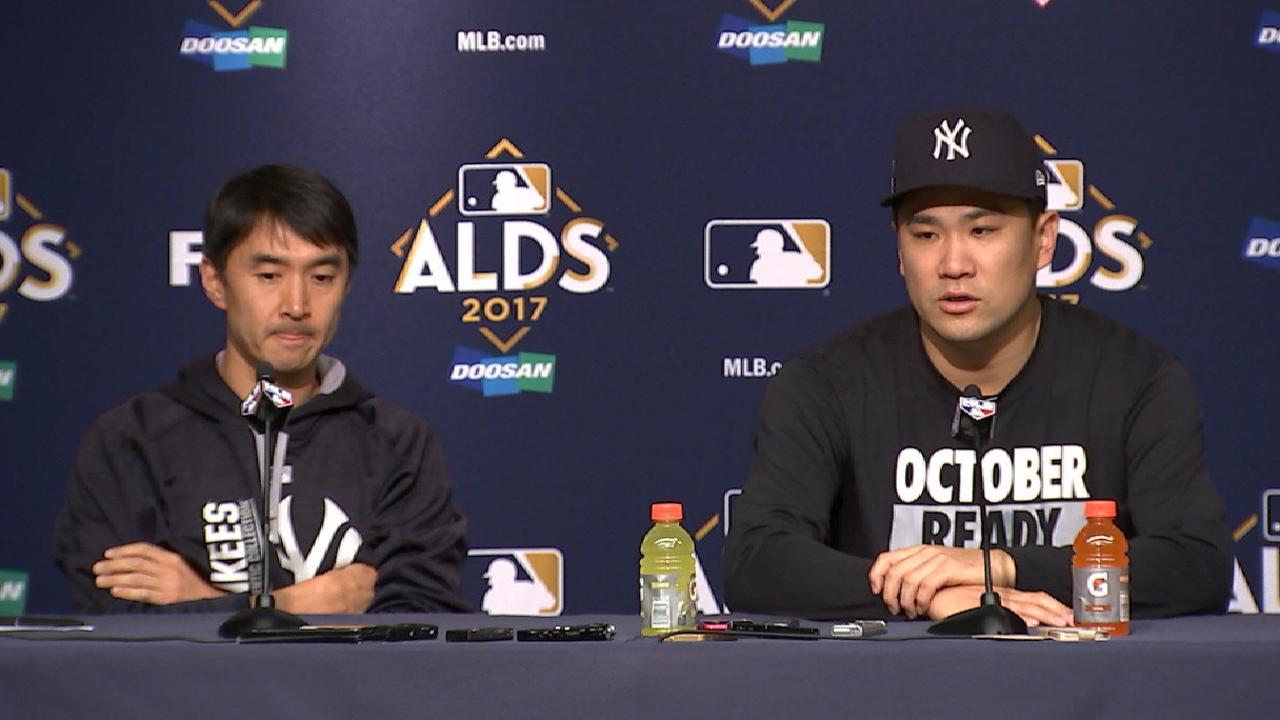 Tanaka recounts 2015 experience
