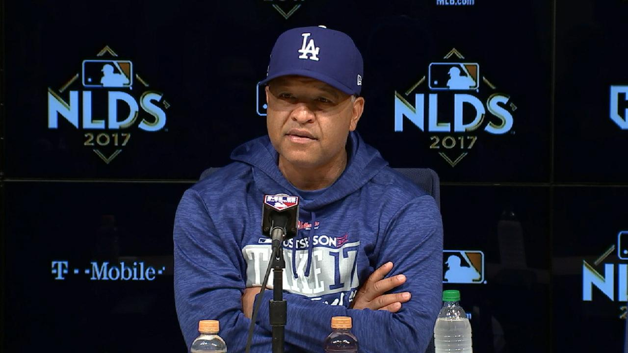 Oct. 7 Dave Roberts pregame interview