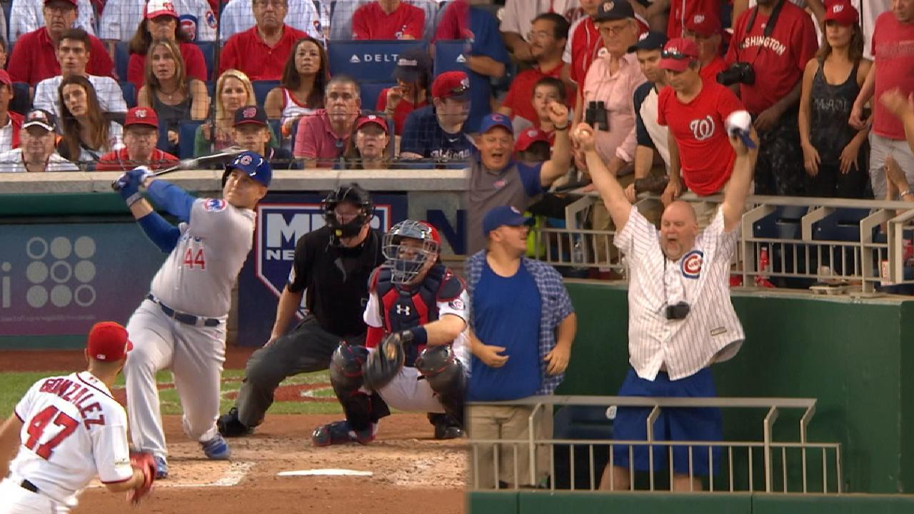 Rizzo's two-run homer in the 4th
