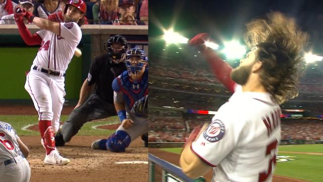 Bryce Harpers Game Tying Home Run During 2 Of The NLDS