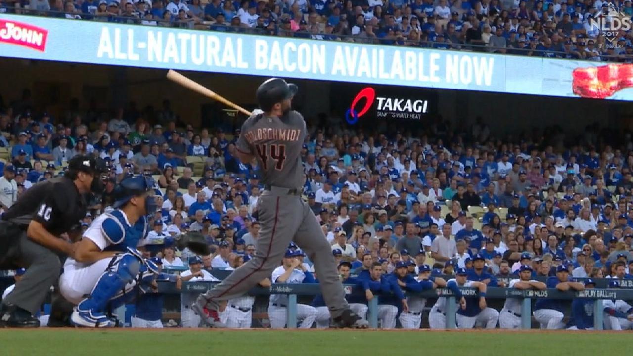 Goldschmidt's two-run home run
