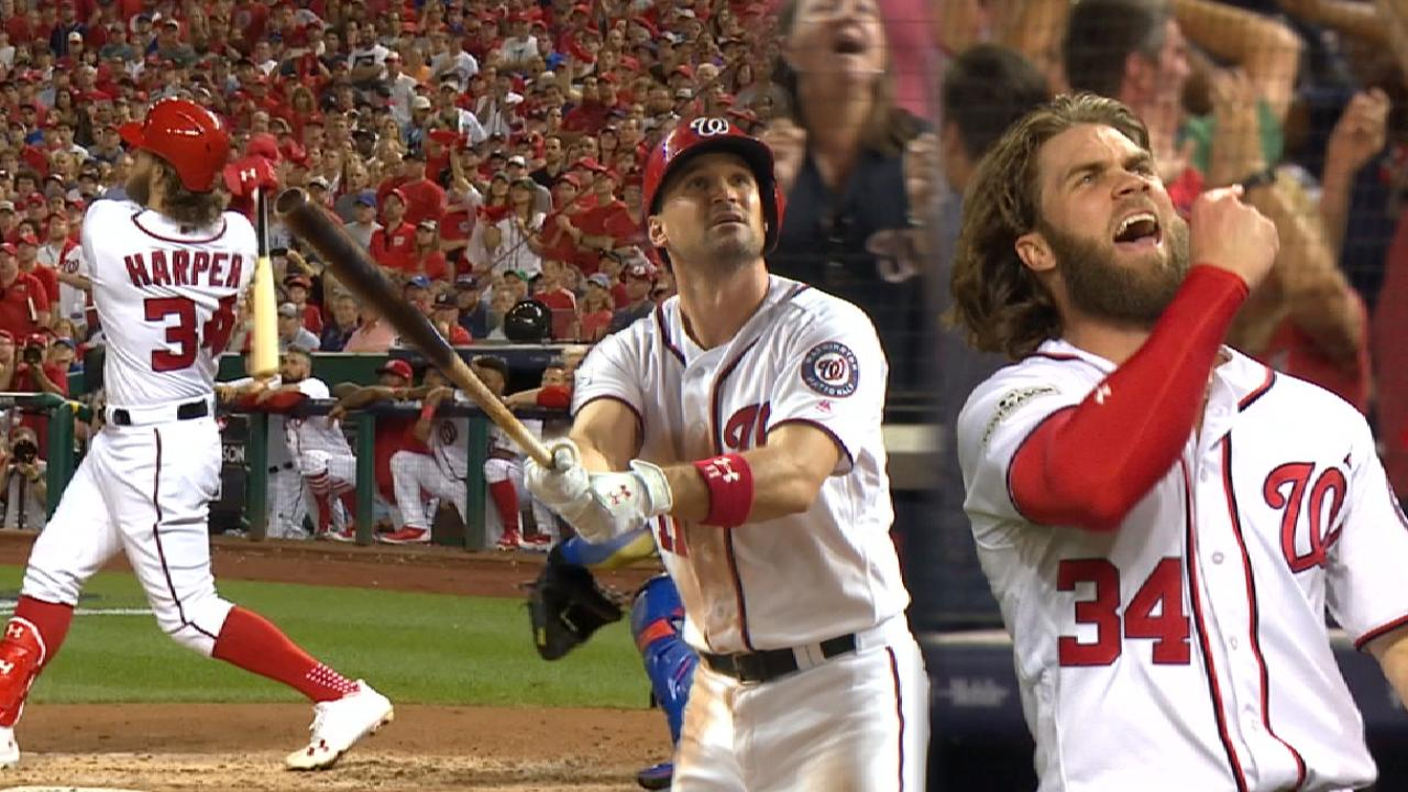 Saturday Nats Live: Bryce, Zim great late in W