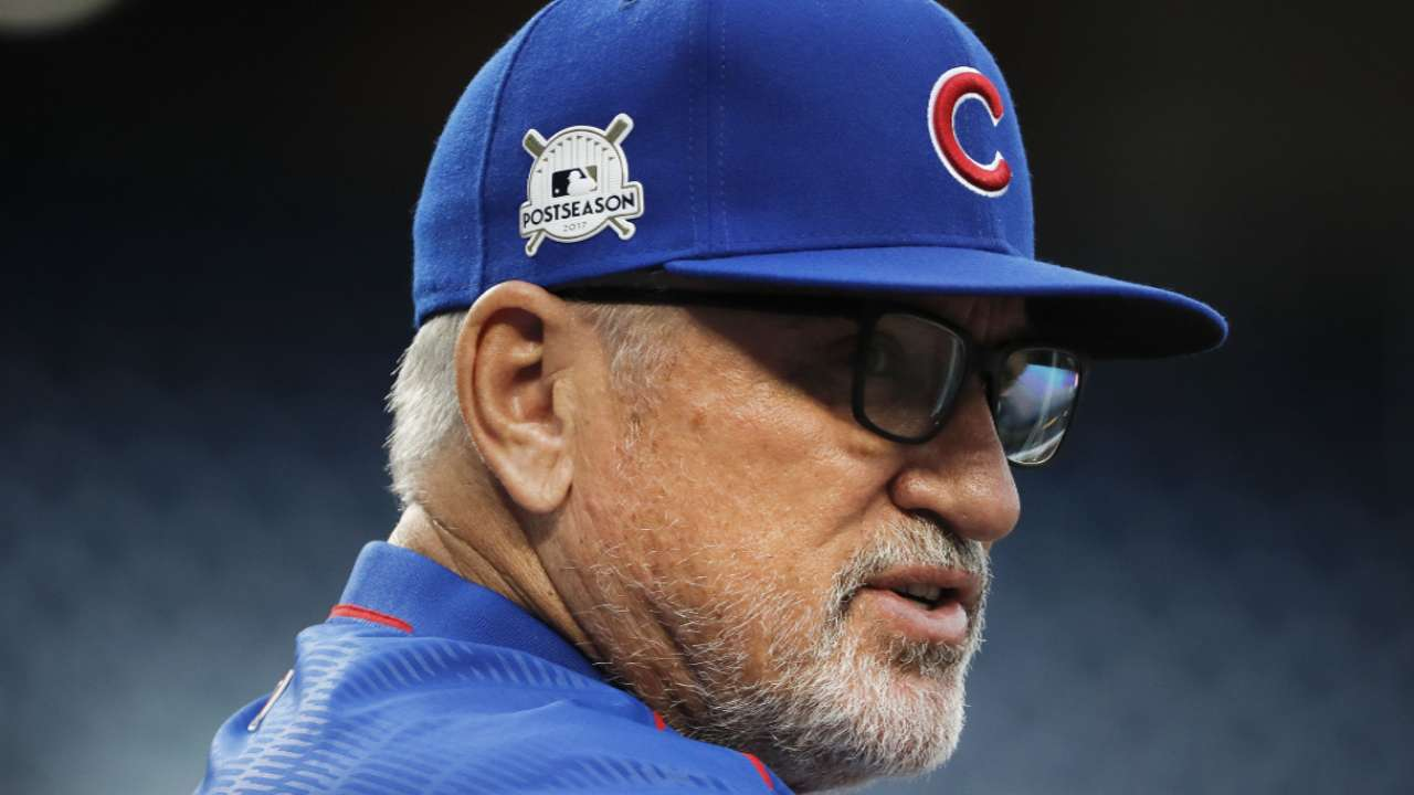 Maddon on NLDS being tied