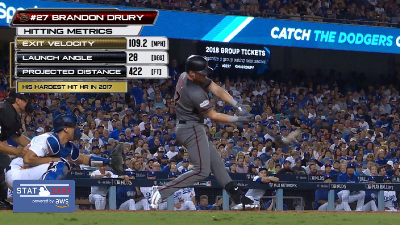 Statcast: Drury's three-run jack