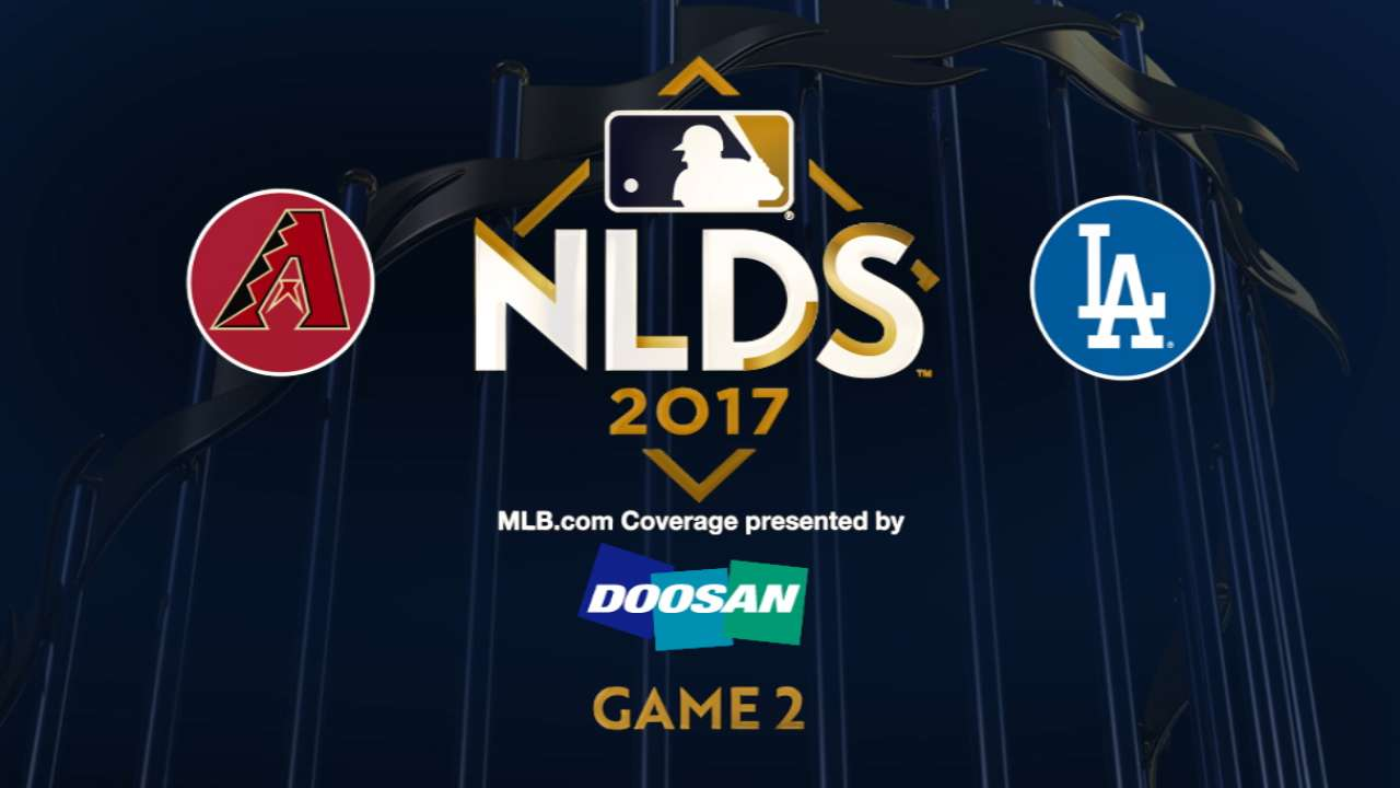 10/7/17: Gran noche de Puig lleva a los Dodgers a ponerse 2-0 arriba en la SDLN
