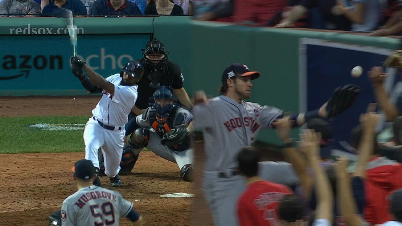 Bradley Jr.'s three-run homer