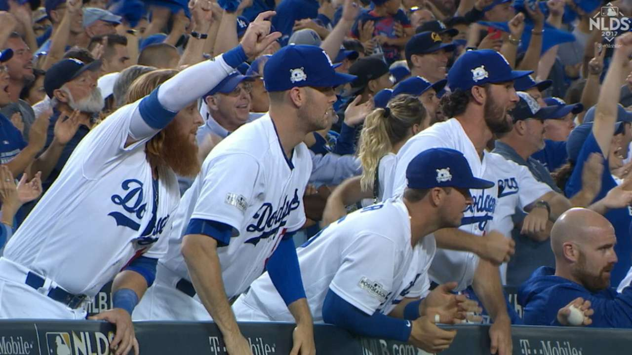 Bottom's up: Dodgers' lineup depth on display