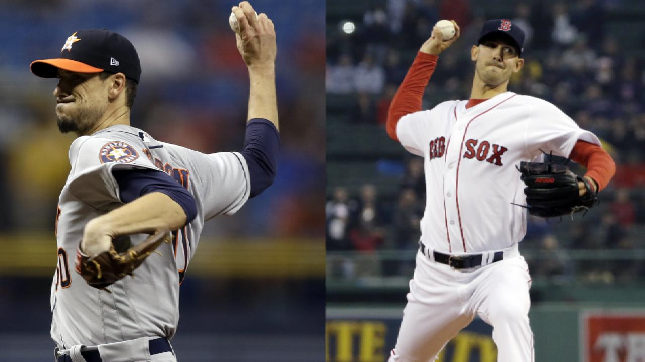 Astros, Red Sox lineups for ALDS Game 4