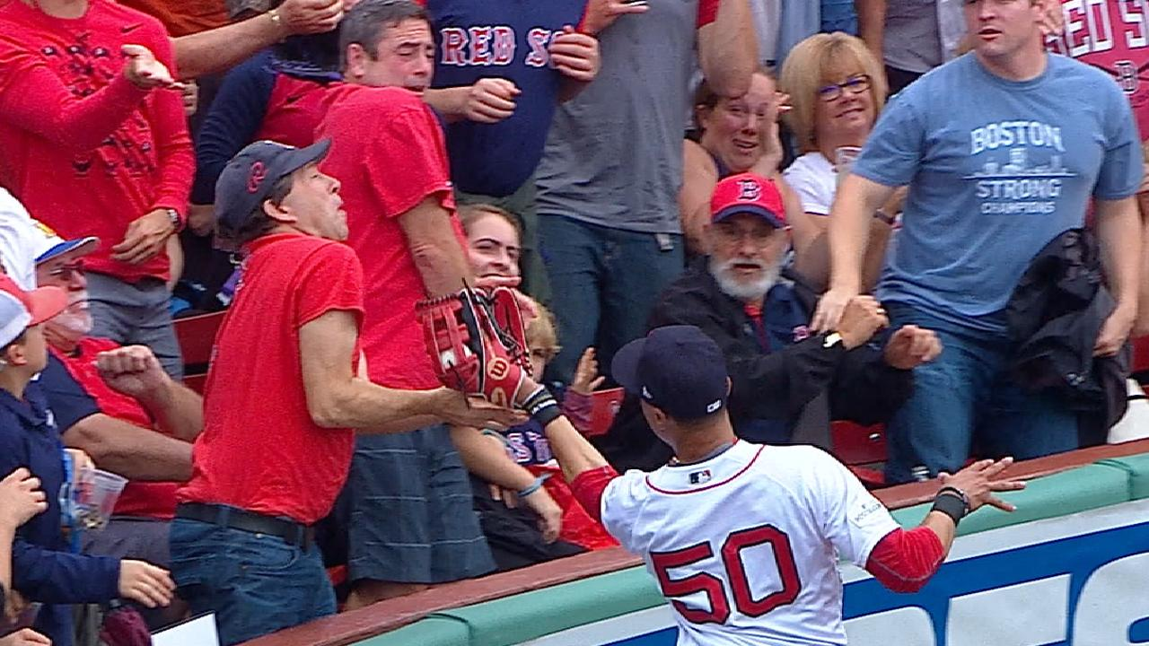 Must C: Betts robs a home run