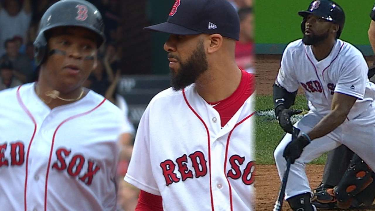 Price, Devers, JBJ come up big