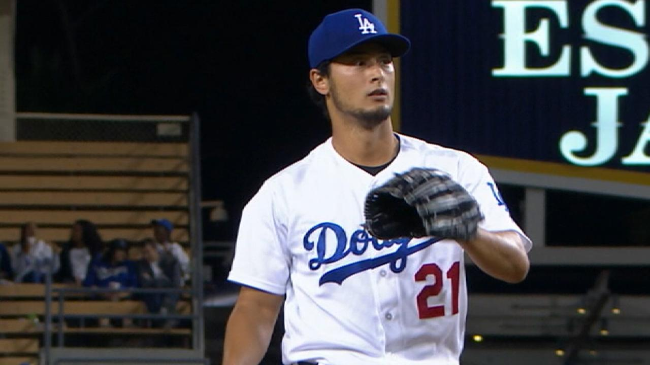 Roberts on Darvish's progression