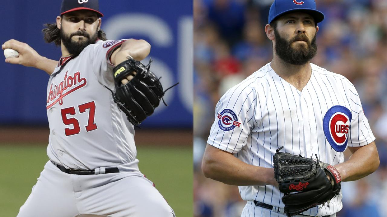 Cubs, Nats announce NLDS Game 4 lineups