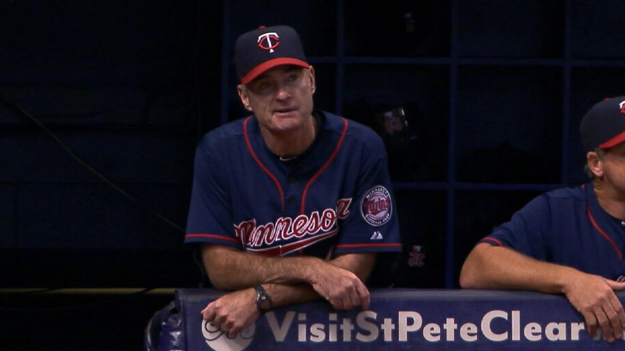 Molitor excited about Twins' bright future