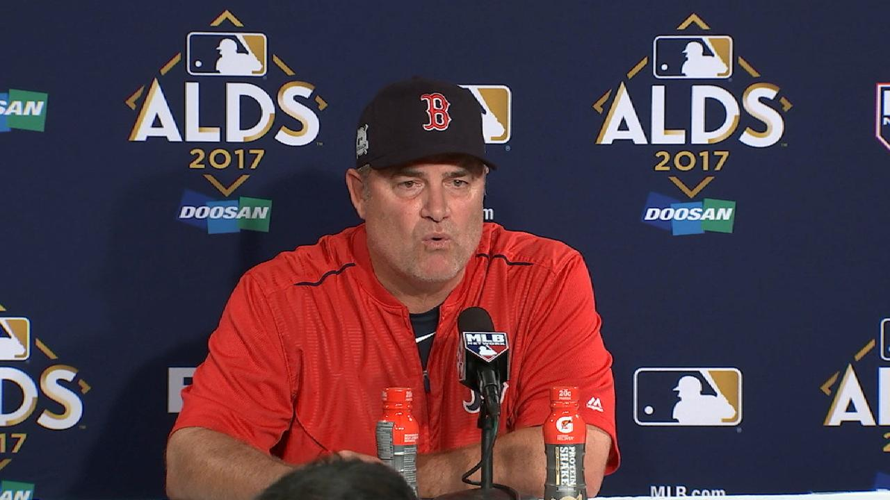 Farrell on 5-4 loss to Astros