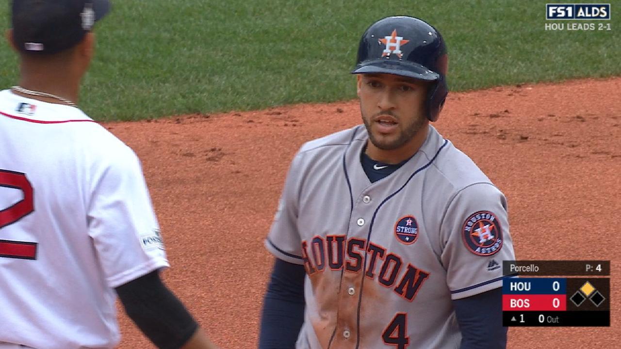 Springer's three-hit game