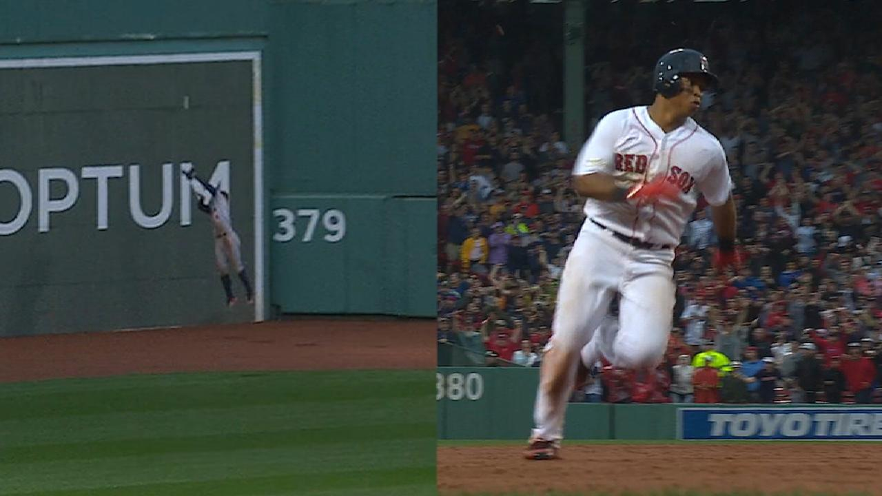Must C: Devers legs out homer