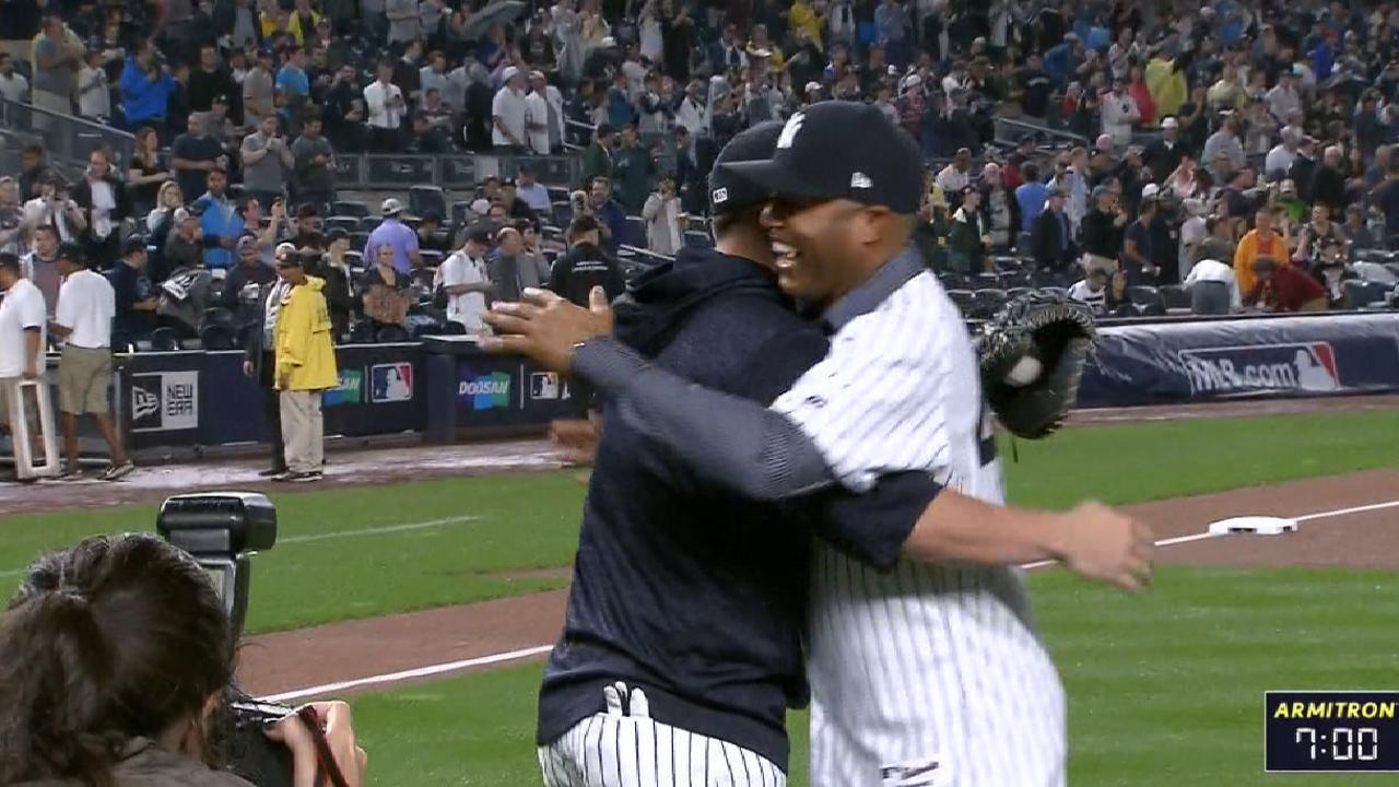 Rivera throws out first pitch