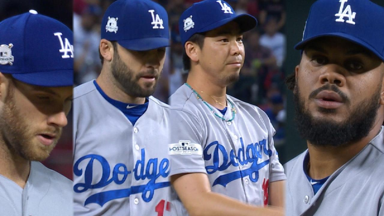Dodgers 'pen shuts out D-backs