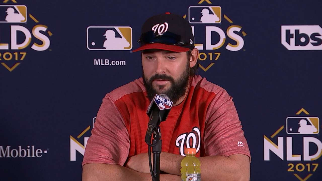 Roark on staying composed