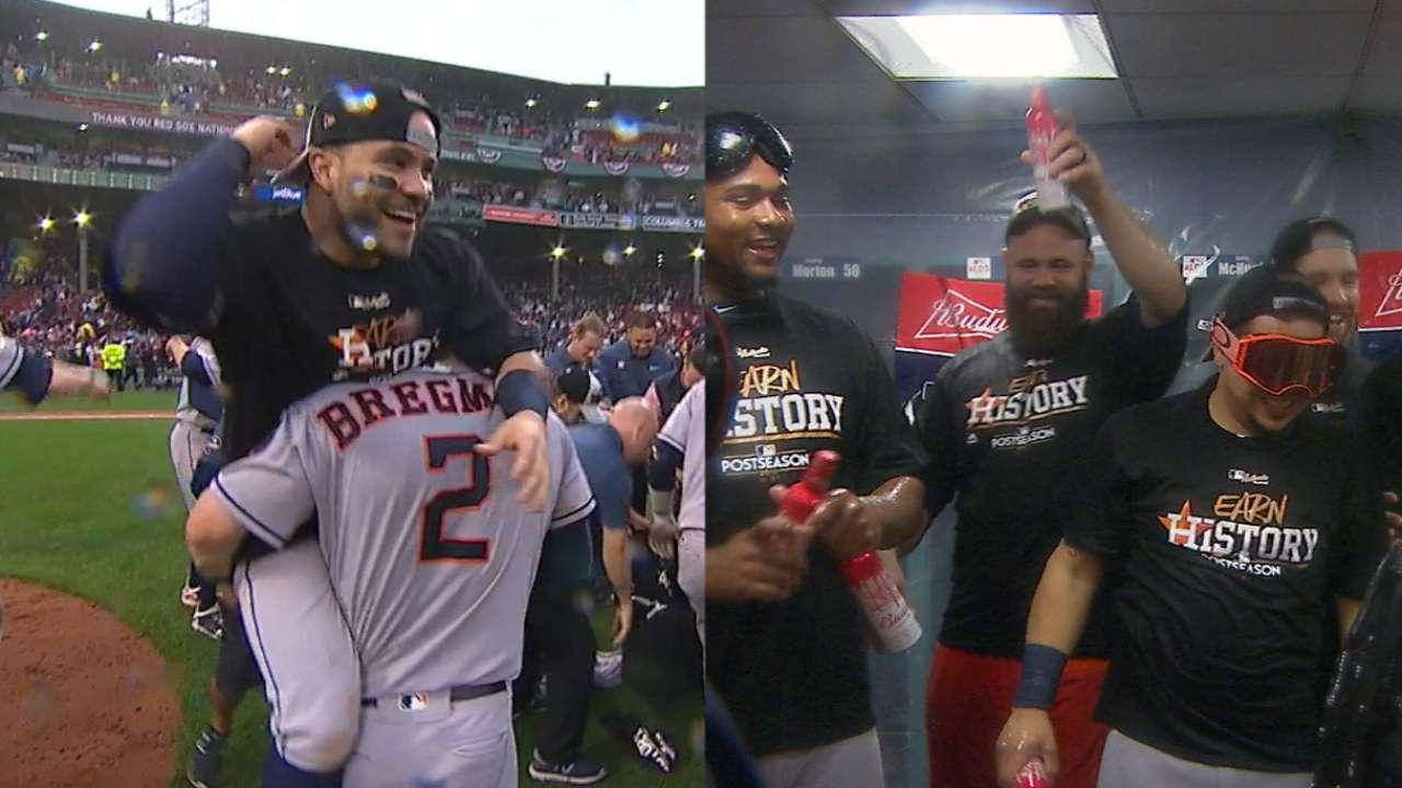 Astros remove Sox, reach ALCS in epic finish