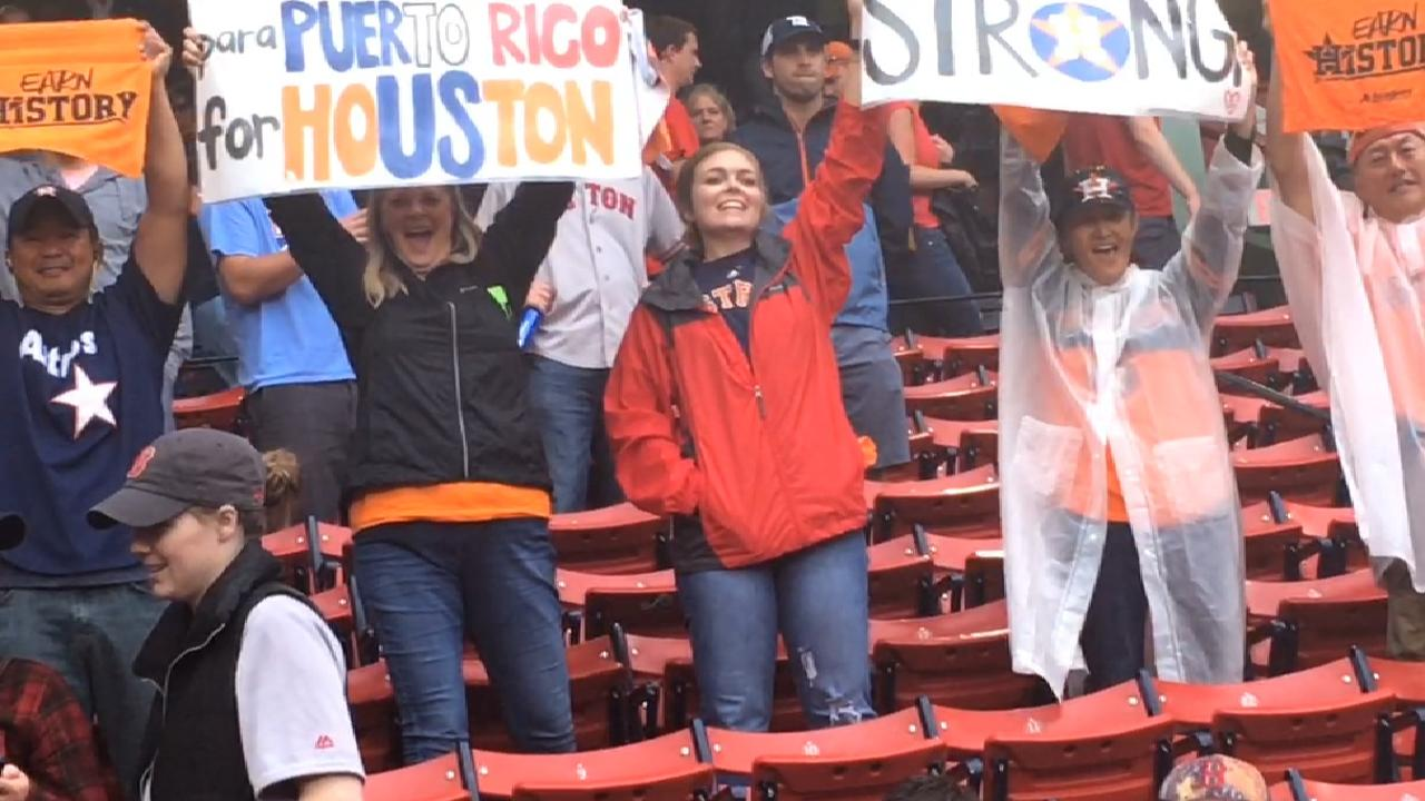 Astros fans revel in ALDS win at Fenway