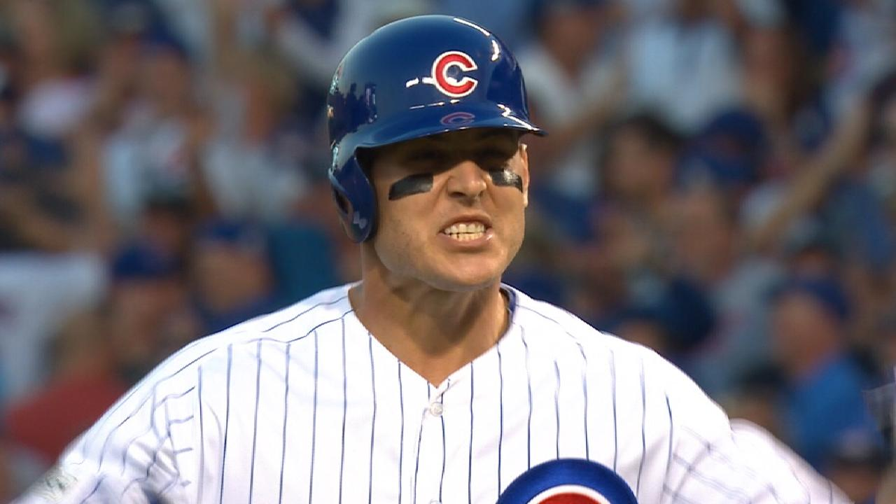 Rizzo on reaction after big hit