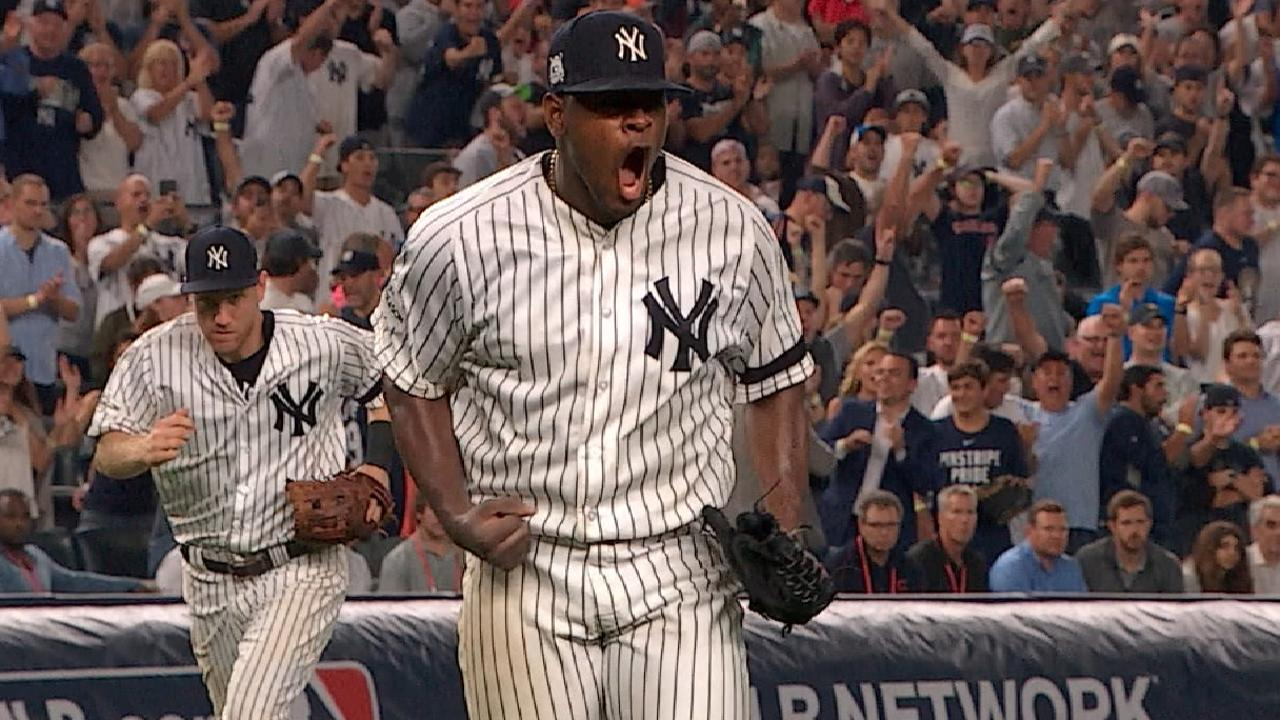 Severino gets out, gets pumped